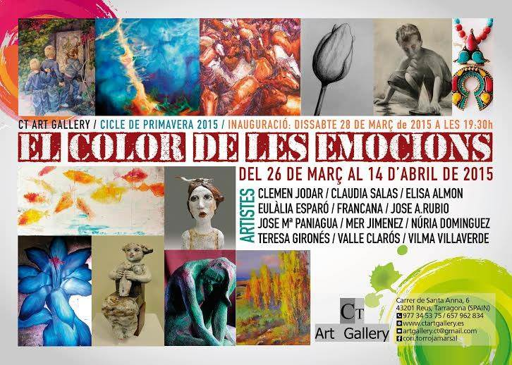 Exposicion--El color de les emocions--CT Art Gallery-Abril 2015-Reus